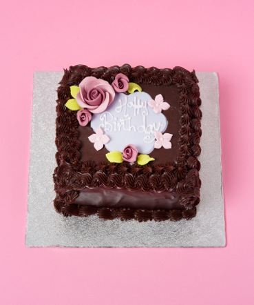 Square Chocolate Birthday Cake Yummy Mummys Cakes Cakes for all