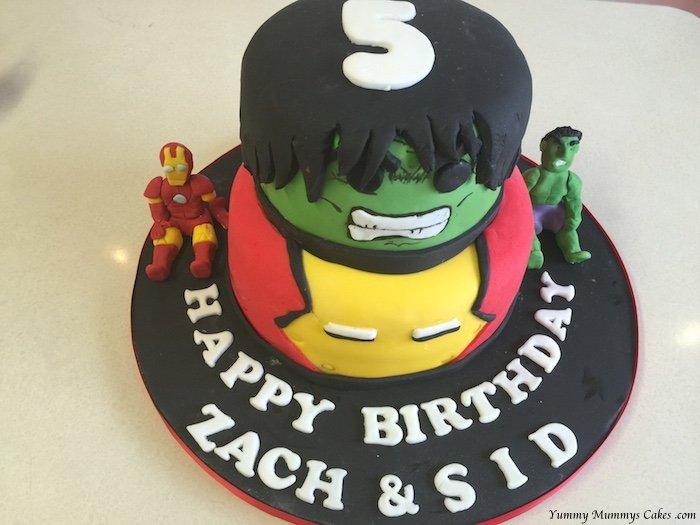 Boys Birthday Cake