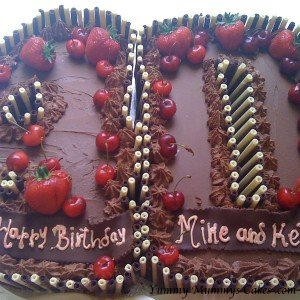 Chocolate Birthday Cake