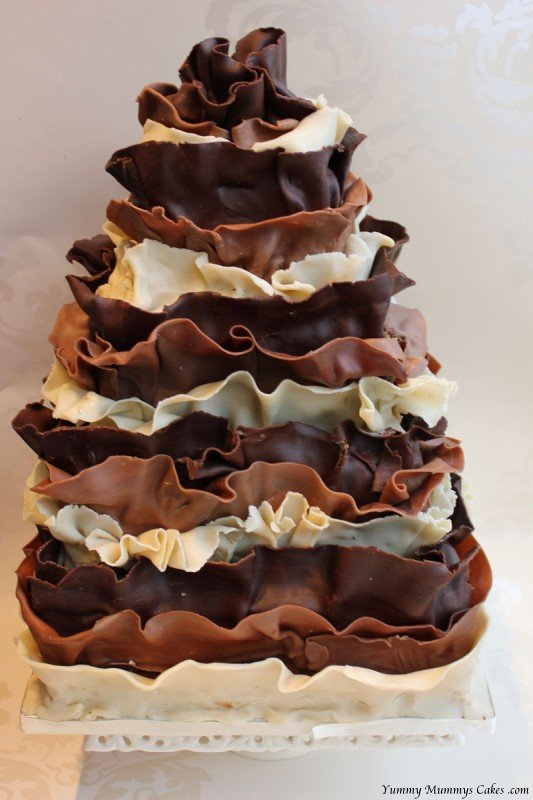 Chocolate Wedding Cake | Yummy Mummys Cakes – Cakes for all ...