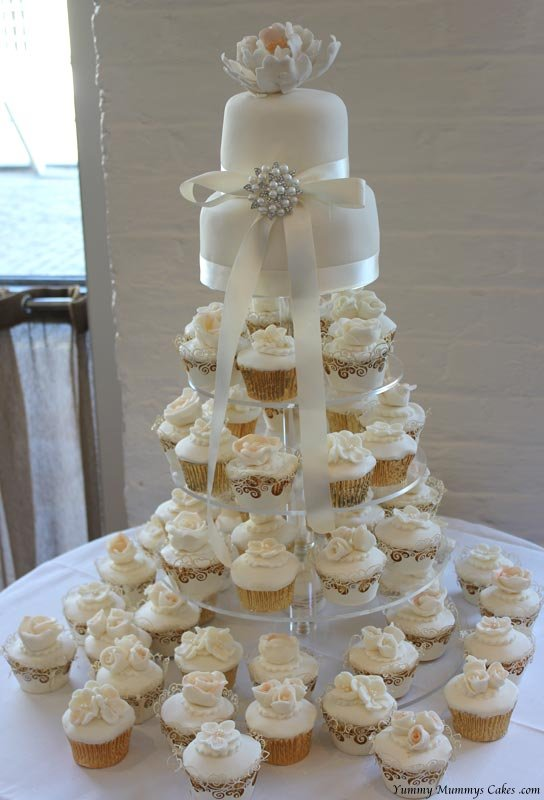 Wedding Cupcakes Yummy Mummys Cakes Cakes For All