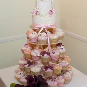 Wedding Bird Cupcakes